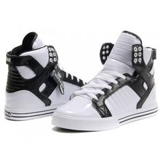 3484d4221277 Retro Supra Justin Bieber Shoes Skytops White Black   Justin Bieber Shoes