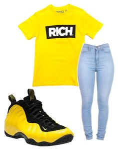 """~rich~"" by qveenmm on Polyvore featuring NIKE"