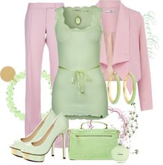 """Pastels"" by coco-cris-1 on Polyvore"