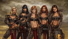 Find the best Fantasy Women Warriors Wallpaper on GetWallpapers. We have background pictures for you! Fantasy Girl, Fantasy Female Warrior, World Of Fantasy, Warrior Girl, Fantasy Women, Warrior Women, Female Armor, Fantasy Characters, Female Characters