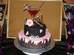 My 'Sex and the City' 21st Cake