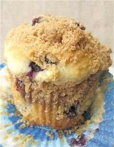 blueberrry streusel muffins