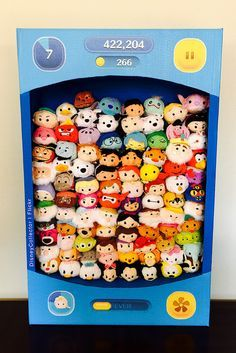 "Disney ""Tsum Tsum"" Collection Box by DisneyCollector on Flickr."