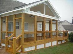JB Gable porch Blose Canton Georgia