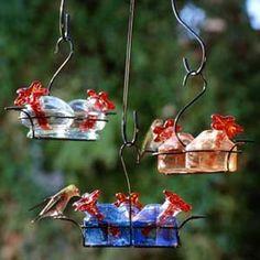 Bouquet Hummingbird Feeder - A Proper Garden