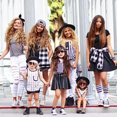 Monochromatically Fierce. These cuties of Instagram got together to share their favorite Little Edge Threads looks, all in black and white. And we are in ❤️. @foreverandforava @littlemisssmia  @khialopez  @vandyjaidenn @brooklyngabby  @lailaapac  PC: @littleredrosephotography