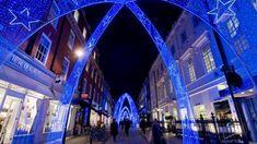 MOLTON Street Xmas lights