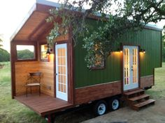 rustic modern tiny house for sale 001 600x450   Modern and Rustic Tiny House For Sale in Austin Texas