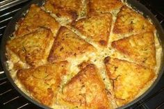 Pork Recipes Gyros Rösti Casserole (recipe with picture) by Hamburger Meat Recipes, Pork Recipes, Hamburger Casserole, Greek Recipes, Potato Recipes, Vegetable Drinks, Healthy Eating Tips, Evening Meals, Popular Recipes