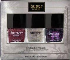 PERFECT glitters!!  #butterLONDONcheer