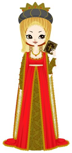 Isabella of Aragon, princess of Asturias by marasop on DeviantArt