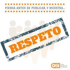 Disclaim sobre el respeto en Internet