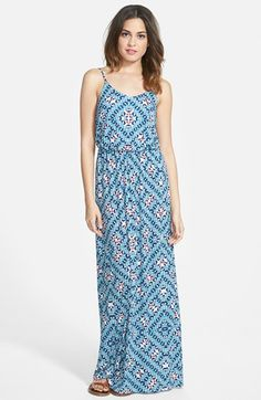 Lush Knit Maxi Dress available at #Nordstrom