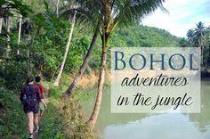 Philippines Bohol jungle adventures