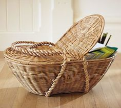 Jacquelyne Picnic Basket #potterybarn
