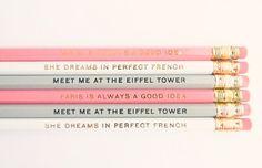 I love these pencils....super cute