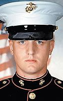 Marine LCpl Michael W. Hanks, 22, of Gregory, Michigan. Died November 17, 2004, serving during Operation Iraqi Freedom. Assigned to 3rd Battalion, 1st Marine Regiment, 1st Marine Division, I Marine Expeditionary Force, Camp Pendleton, California. Died of wounds sustained when hit by enemy small-arms fire during combat operations in Fallujah, Anbar Province, Iraq.
