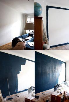 Interiorblogger Und Do It Yourself: Das Wohnzimmer Streichen