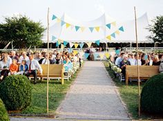 DIY Bunting || from Southern Weddings