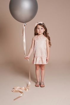 Pastels textured spots from Hucklebones Summer 2014 Kidswear