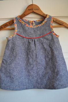 Adapted Green Bee Iris Dress pattern