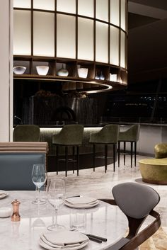 Restaurant Conjures the Beauty of Chinese Countryside in a Dining Area. www.bocadolobo.com  www.moderndiningtables.net #moderndiningtables #modernideas #modernlighting #diningtables #luxury #luxurydesign #luxurylighting #moderndesignideas #designideas #decoration #decorideas #bocadolobo Rooftop Decor, Rooftop Design, Rooftop Lounge, Rooftop Bar, Restaurant Lighting, Rooftop Restaurant, Restaurant Design, Interior Design Dubai, Interior Design Inspiration