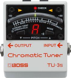Boss TU-3S Chromatic Tuner  Kinerja Staandar-Dunia dalam tapak yang kecil.  BOSS…
