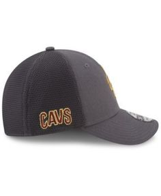 New Era Cleveland Cavaliers On Court Graph 39THIRTY Cap - Gray M/L