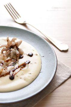Ispirata dal menù della chef Victoire Gouloubi, ho realizzato una variante dei suoi straccetti di seppia: un antipasto delizioso o un goloso secondo piatto. ©AnnaFracassi