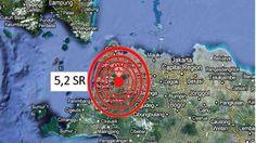 Penatangerang.com – KOTA TANGERANG – Guncangan gempa bumi berkekuatan 5,2 Skala Richter (SR) mengguncang Pandeglang Banten sekitar pukul 13.15 WIB, Rabu (04/11/2015). Berdasarkan informasi yang dihimpun dari Badan Meteorologi, Klimatologi dan Geofisika (BMKG), titik pusat gempa ini berada pada 88 Km Barat Daya Pandeglang Banten. Tepatnya di 6.80 LS, 105.01 BT dengan kedalaman 10 Km. …