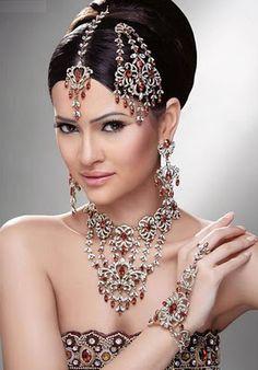 Emoo Fashion Wedding Jewelry Designs 2017 Indians Bridal Jewellery Stani