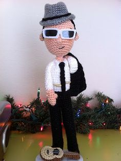 CRAFTYisCOOL: Custom Amigurumi: That's What!