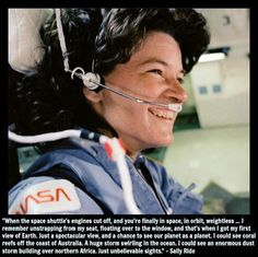 Dr. Sally Ride, a Girl Scout alumna, is being posthumously awarded the Presidential Medal of Freedom, the Nation's highest civilian honor, for her contributions to the U.S. space program and education system.