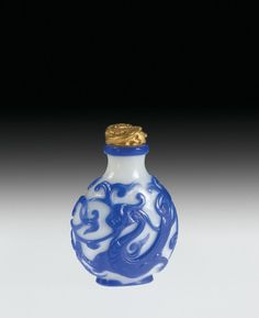 Snuff Bottle with Cork Stopper, China  1736-1795