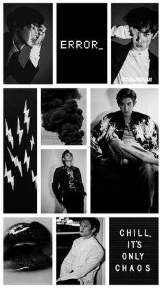 59 Ideas For Aesthetic Wallpaper Dark Exo Black Wallpaper Iphone, Dark Wallpaper, Tree Wallpaper Bedroom, Dark Feeds, Anime Backgrounds Wallpapers, Exo Fan Art, Exo Lockscreen, Park Chanyeol Exo, Couple Aesthetic
