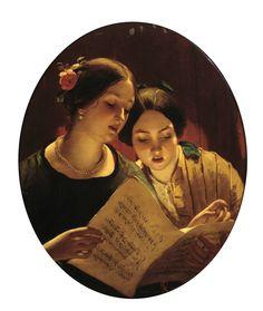 The Athenaeum - The Duet (James Sant, R.A. - )