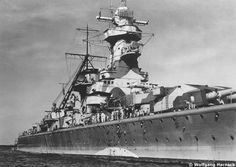 Starboard view of Admiral Graf Spee.