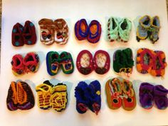 300 pairs from PCI coop in Guatemala