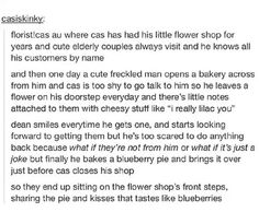 Too sweet for our Destiel I think, but still ridiculously adorable