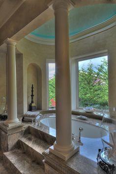 Mercer Island Estate - mediterranean - bathroom - seattle - Jeff Fotheringill
