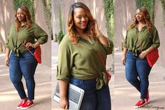 4 Ways to Wear a Shirt Dress - Trendy CurvyTrendy Curvy