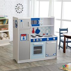 Kidkraft Espresso Toddler Kitchen | Have To Have It Kidkraft Espresso Toddler Play Kitchen With Metal