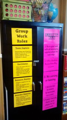 Math = Love: Posters of Group Work Roles