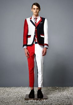 COOL CHIC STYLE to dress italian: Thom Browne menswear, la collection spring summer 2014