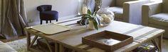 impressionnant  grande table basse bois