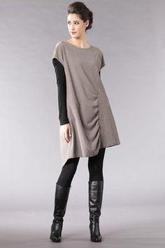 Dress Alesya - 57%CV41%WV2%CO