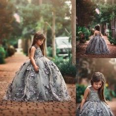 20524489_10213549421119400_238036367_o (1) Princess Flower Girl Dresses, White Flower Girl Dresses, White Dress, Beautiful Frocks, Brooklyn Style, Kids Gown, Couture Dresses, Little Princess, Baby Dress