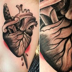 @zanependergast heart and dagger engraving, woodcut style, American traditional tattoo. Massachusetts