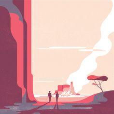 The Art Of Animation, Tom Haugomat - http://tomhaugomat.tumblr.com/