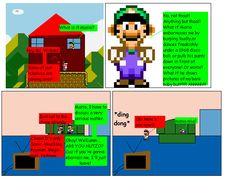 The first issue of the Mario Saga comic by Nintendork Saga Comic, Mario Fan Art, Super Mario Bros, Nintendo, Inspired, Comics, Collection, Cartoons, Comic